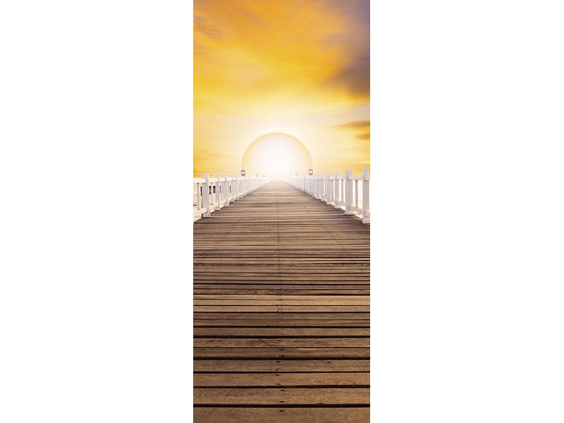 Türtapete Die Brücke Ins Glück