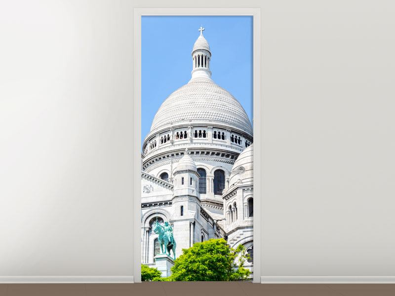 Türtapete Paris- Montmartre