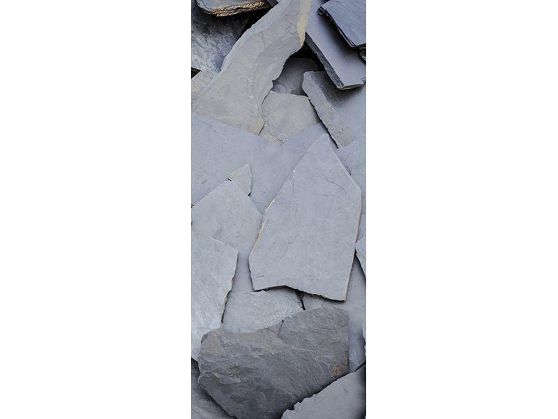 Türtapete Schieferplatten