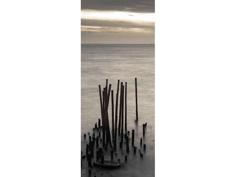 Türtapete Das Meer und die Träne