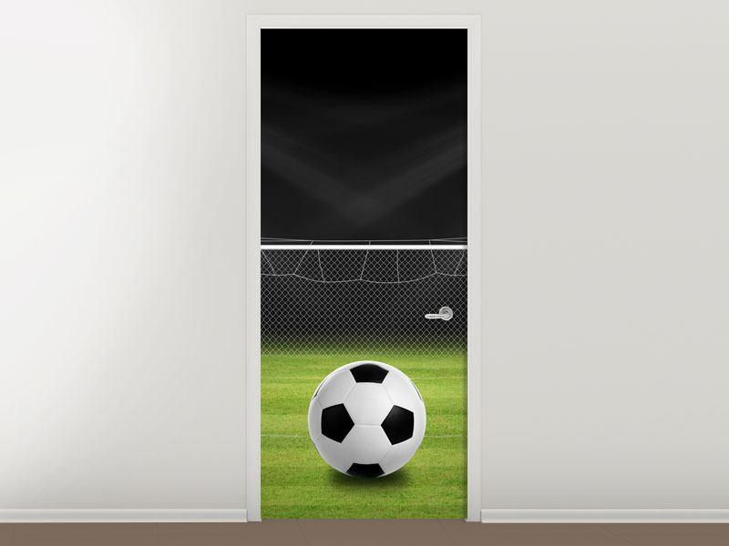 Türtapete Fussball-Tor