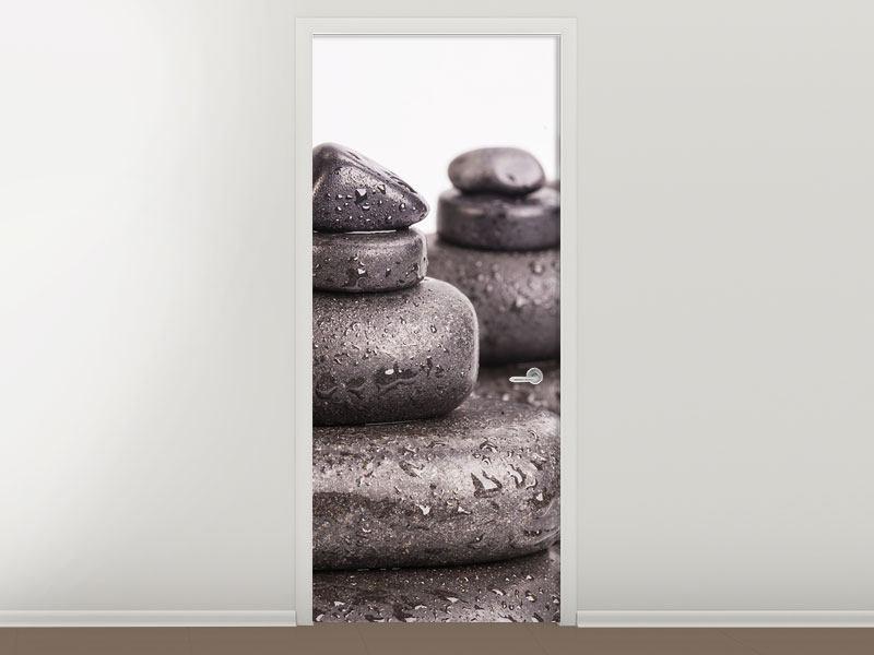 Türtapete Die Kraft der Steine
