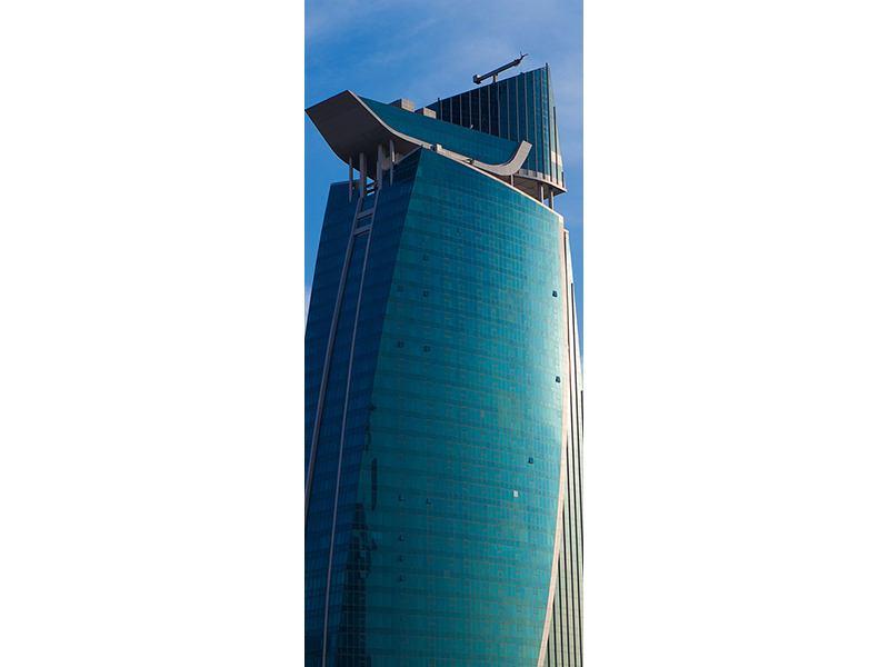 Türtapete Zwei Wolkenkratzer