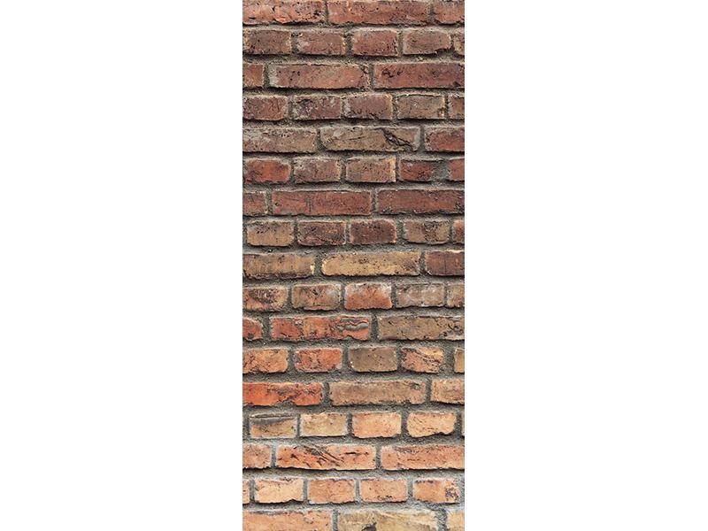 Türtapete Brick Wall