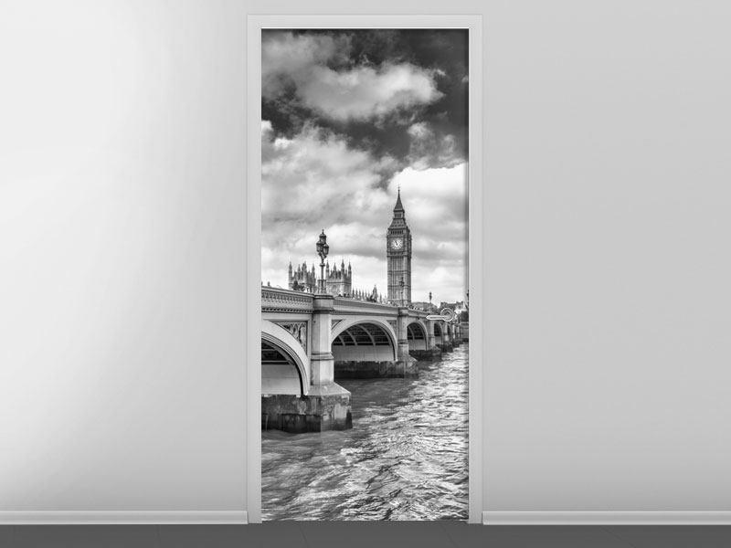 Türtapete Westminster Bridge