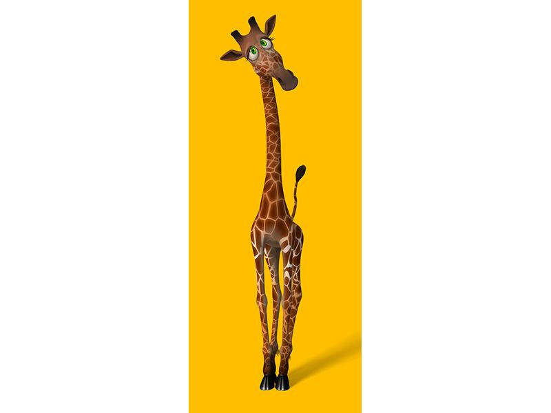 Türtapete Giraffensweety