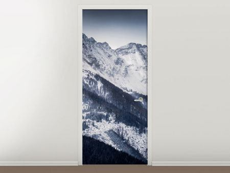 Türtapete Die Berge der Schweiz