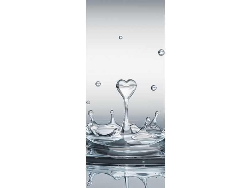 Türtapete Wasserfigur