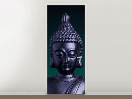Türtapete Die Weisheit des Buddhas