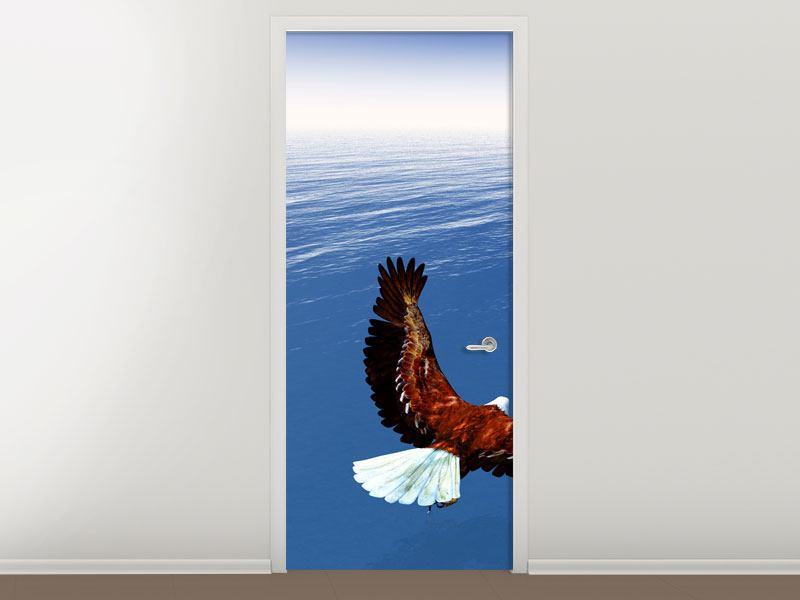 Türtapete Der Adler