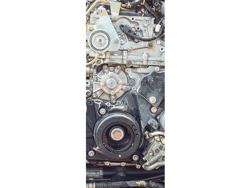Türtapete Motor