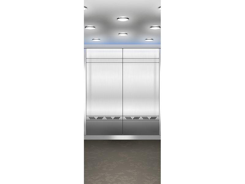 Türtapete Eleganter Aufzug