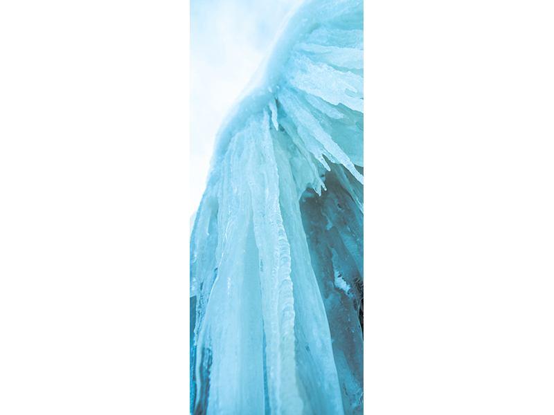 Türtapete Die Eiswand