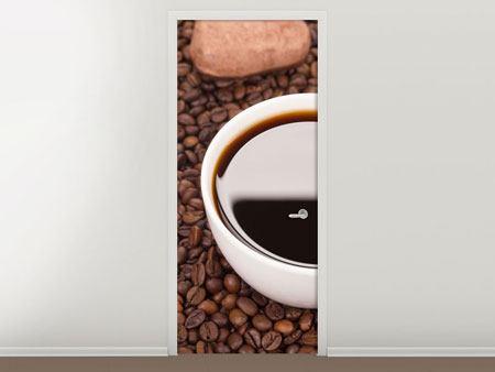 Türtapete Pausenkaffee