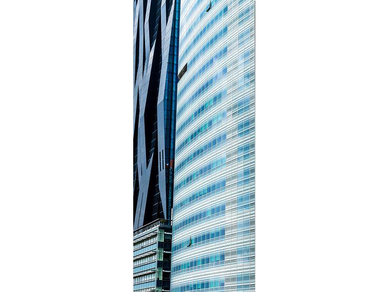 Türtapete Wolkenkratzer