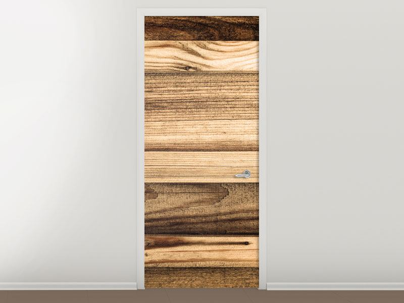 Türtapete Holztrend