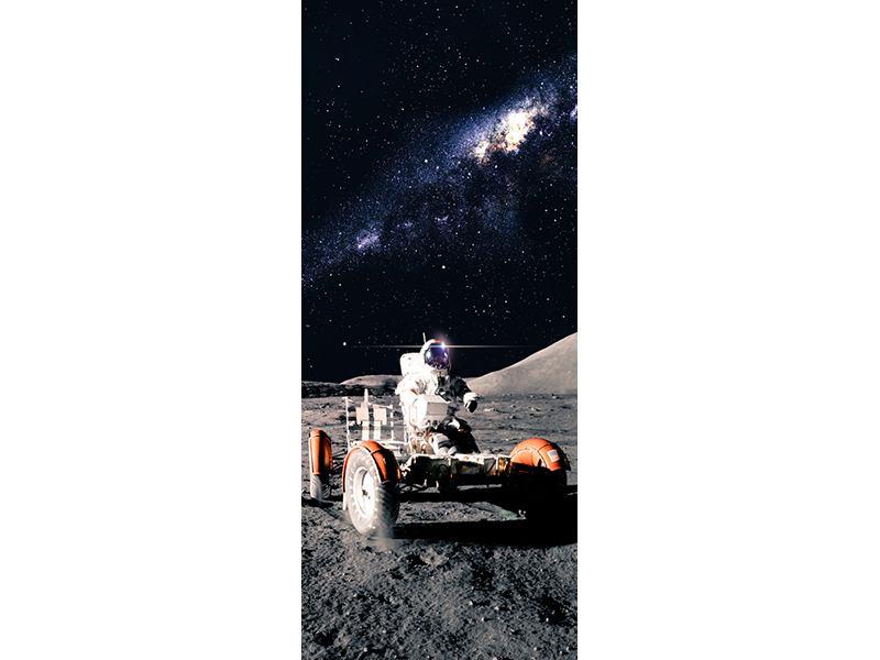 Türtapete Astronauten-Arbeit