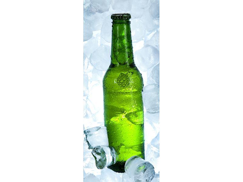 Türtapete Eisgekühltes Bier