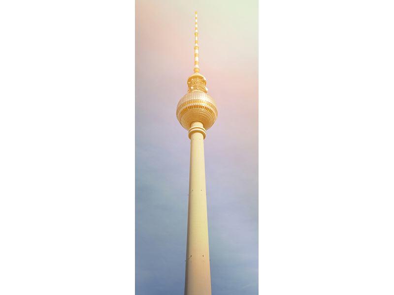 Türtapete Berliner Fernsehturm