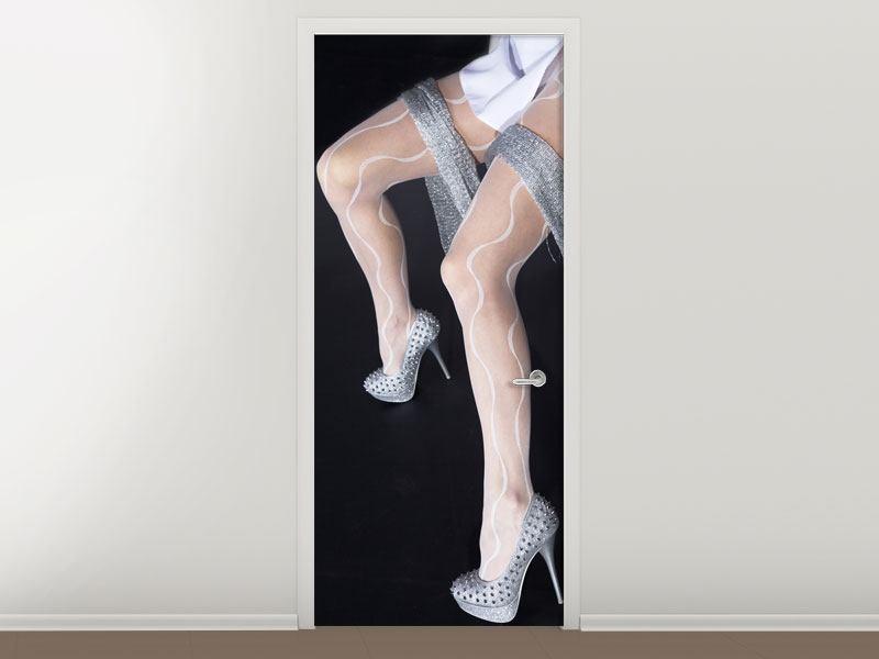 Türtapete Beautyful Legs