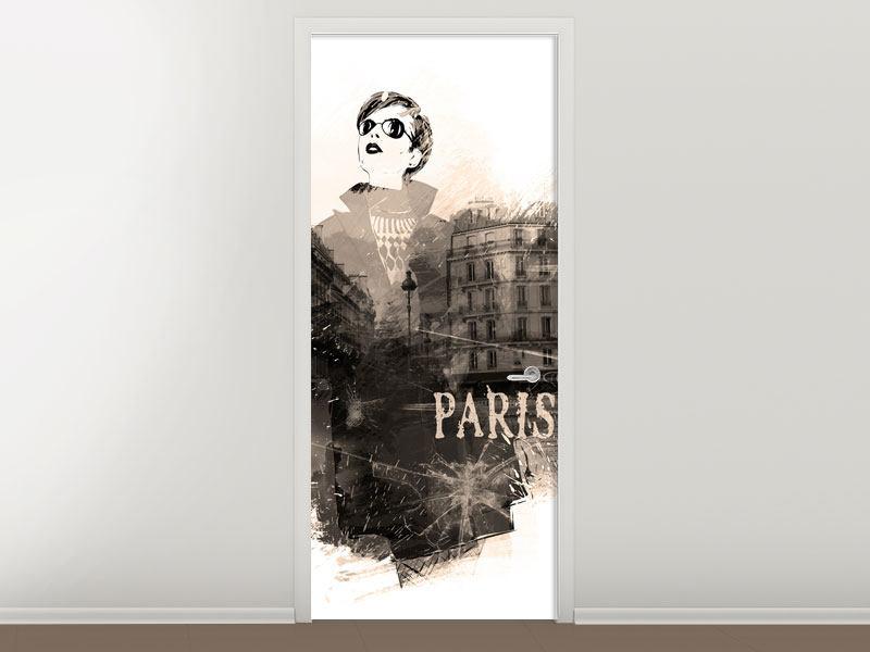 Türtapete Pariser Modell