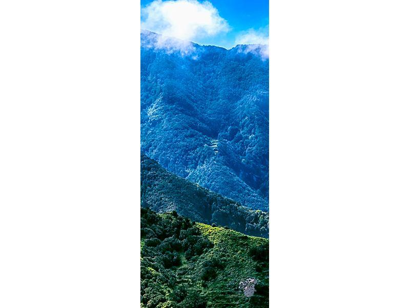 Türtapete Die Berglandschaft