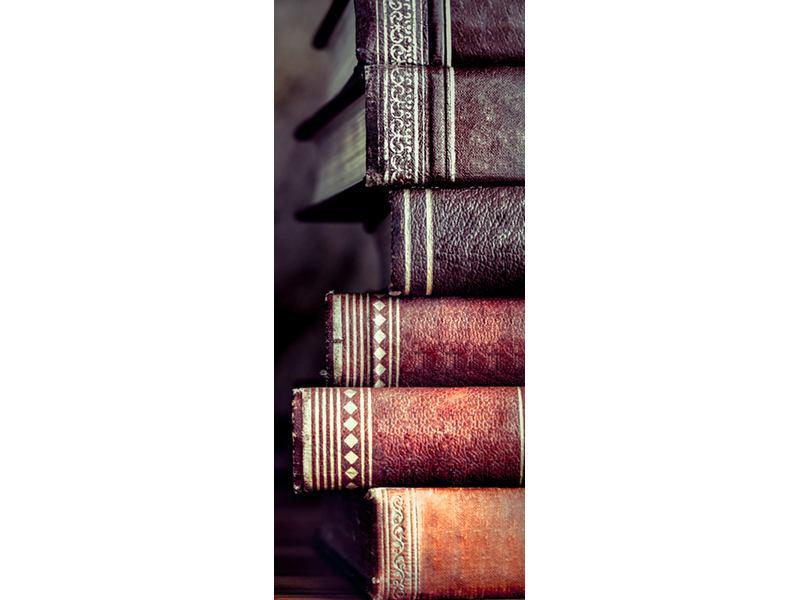 Türtapete Antike Buchstapel