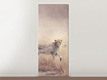 Türtapete Gepard