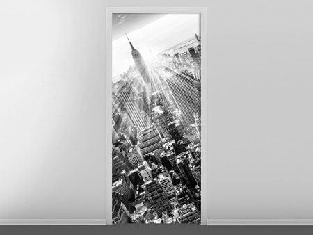Türtapete Wolkenkratzer New York