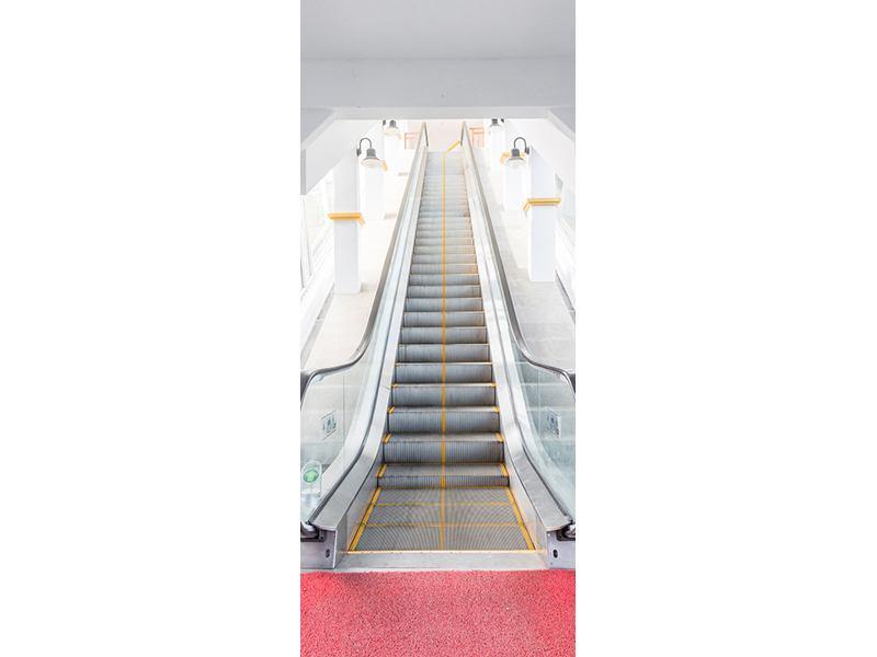 Türtapete Rolltreppe