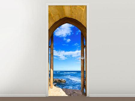 Türtapete Das Tor zum Meer