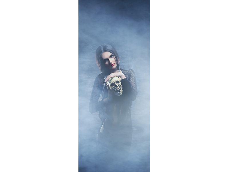 Türtapete Das Geheimnis des Skulls