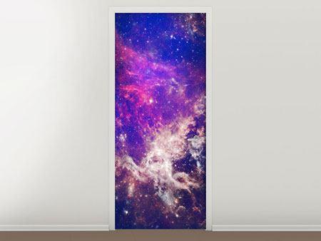 Türtapete Das Universum