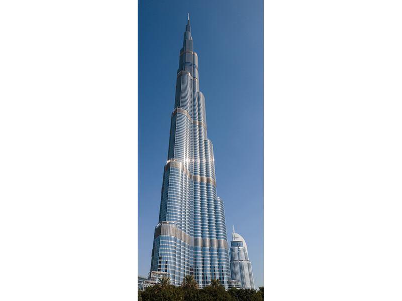 Türtapete Wolkenkratzer Dubai