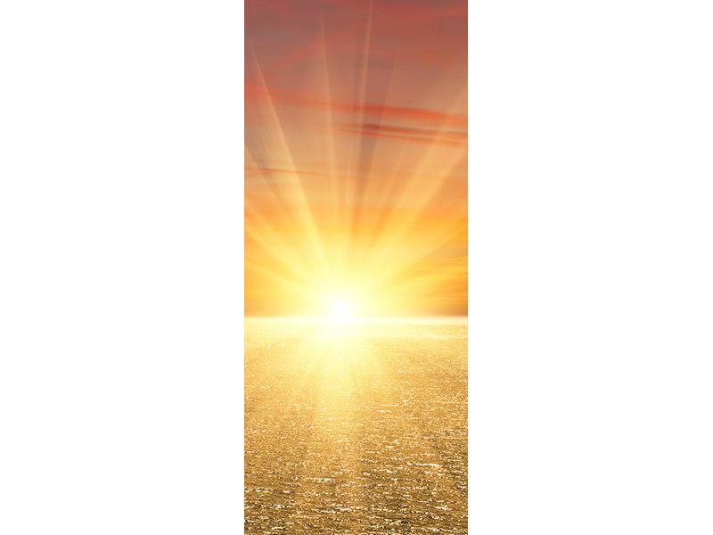 Türtapete Der Sonnenuntergang