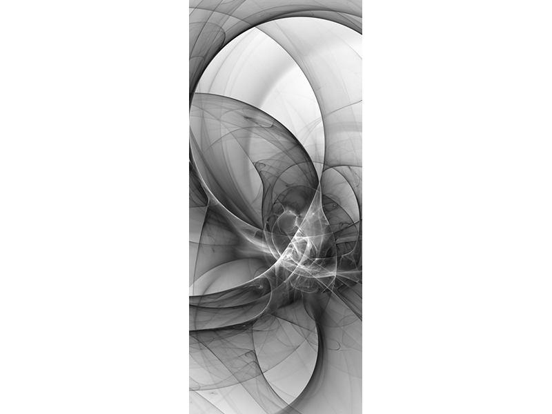 Türtapete Abstrakte Kreisende Kreise