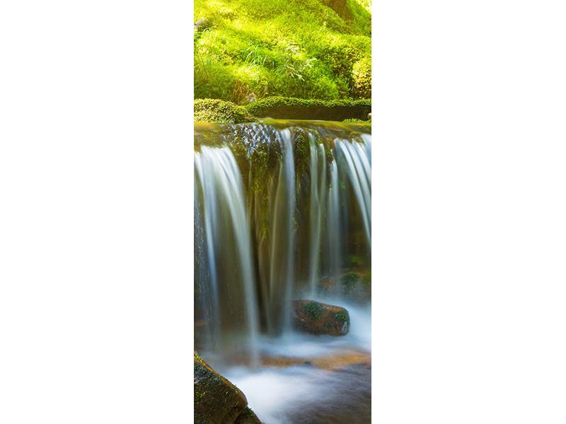 Türtapete Schönheit des fallenden Wassers
