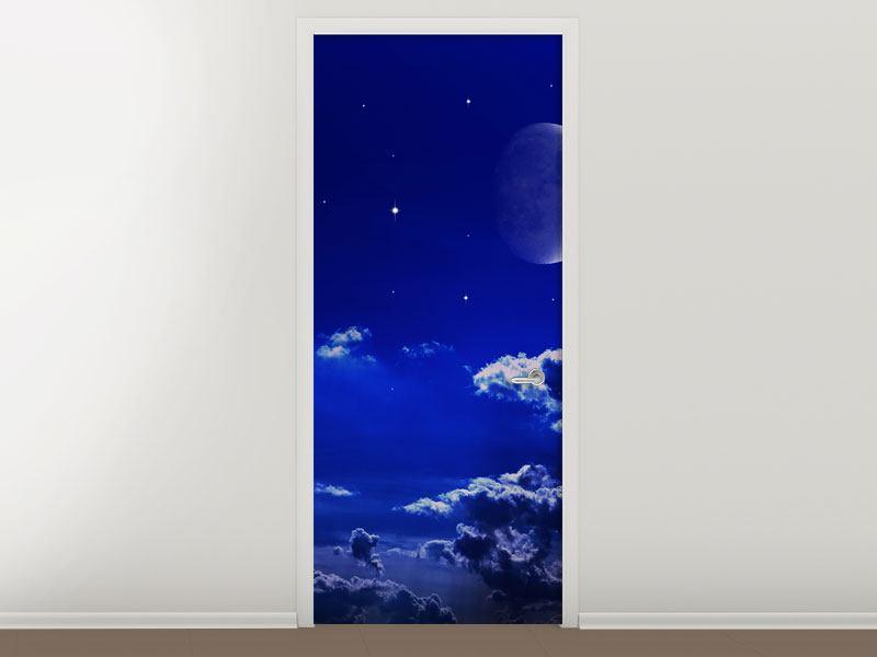Türtapete Der Nachthimmel