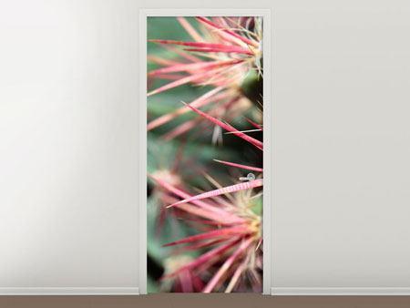 Türtapete Die Kaktusblüte