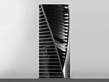 Türtapete Skyscraper