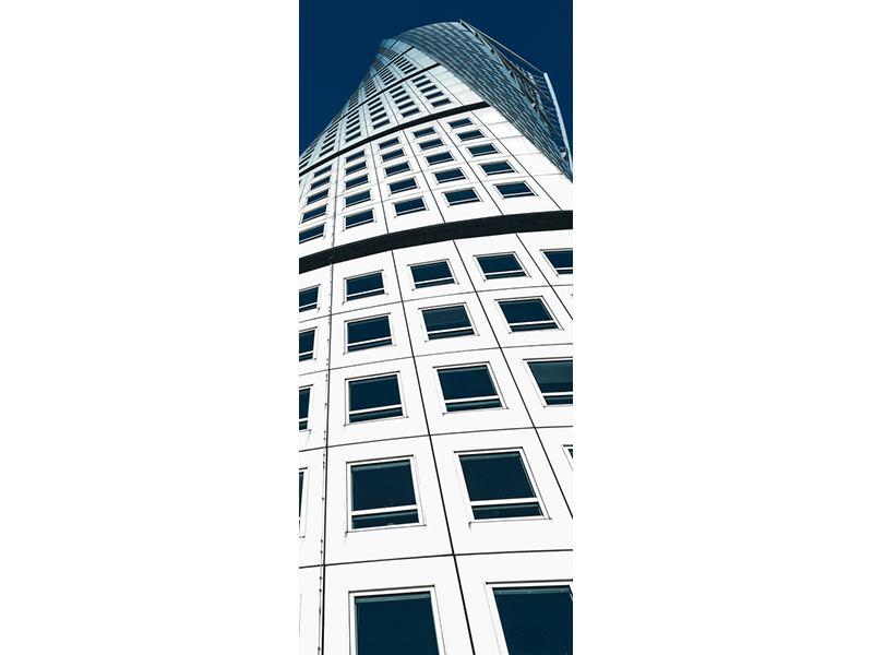 Türtapete Meisterstück Wolkenkratzer