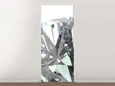 Türtapete XXL Diamant