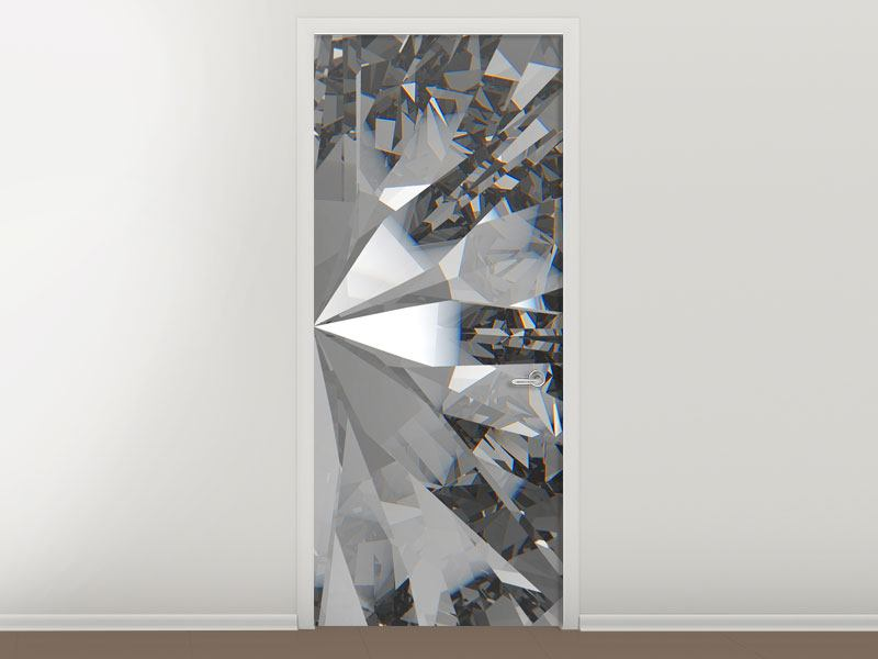 Türtapete Riesendiamant