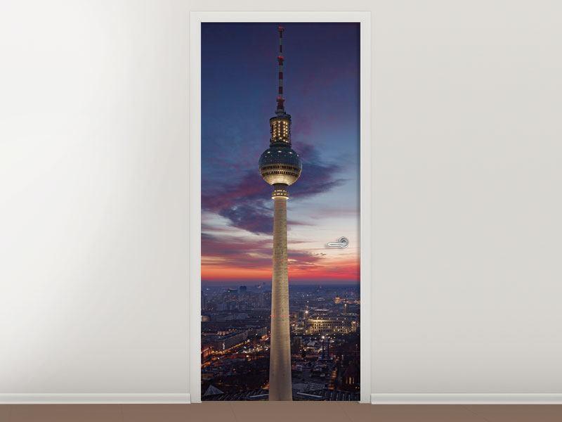 Türtapete Berlin