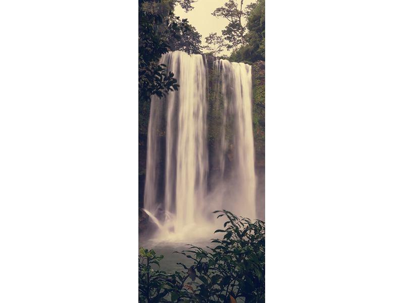 Türtapete Wasserfall in Mexiko