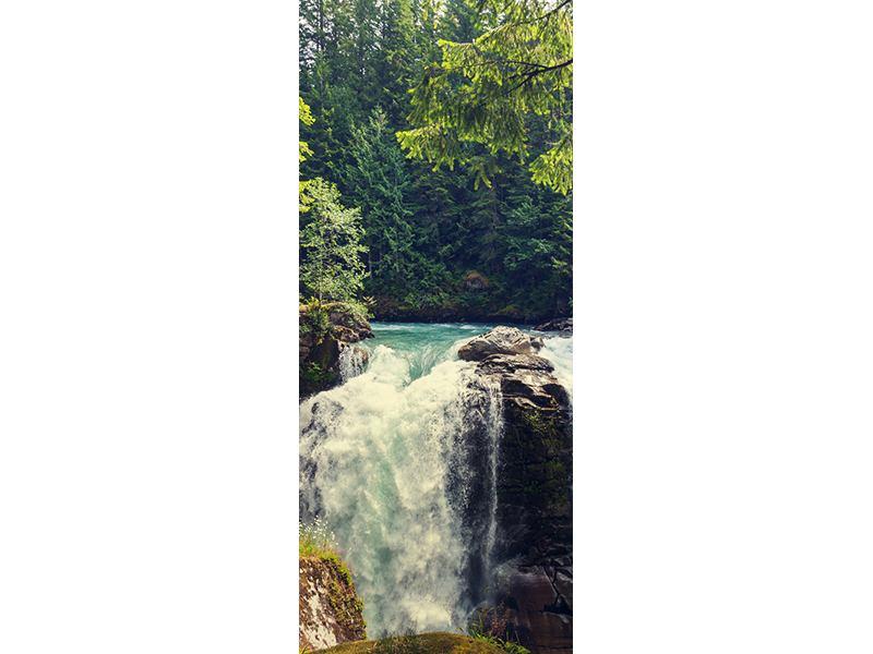 Türtapete Flussströmung