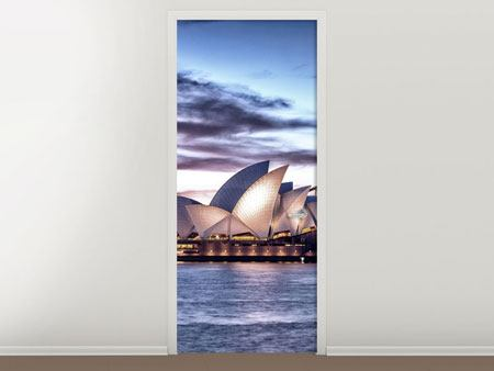 Türtapete Skyline Sydney Opera House