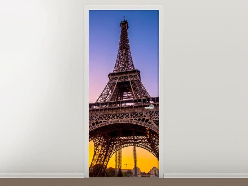 Türtapete Paris- Eiffelturm
