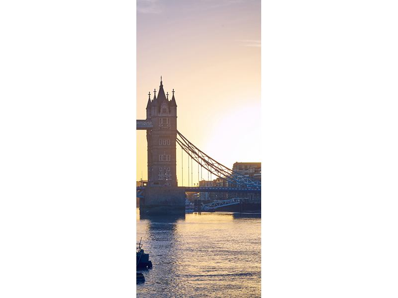 Türtapete Tower Bridge bei Sonnenuntergang