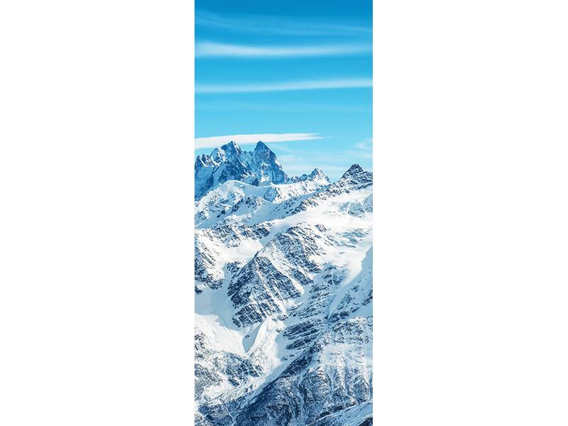 Türtapete Alpenpanorama
